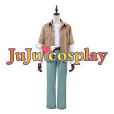 画像1: 呪術廻戦 五条悟 コスプレ衣装 コスプレチューム  (1)