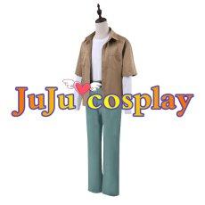 画像2: 呪術廻戦 五条悟 コスプレ衣装 コスプレチューム  (2)
