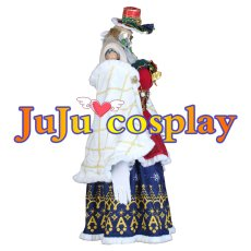 画像2: ラブライブ! サンシャイン!! Aqours クリスマスプレゼント編 黒澤ダイヤ 覚醒後 コスプレ衣装 (2)