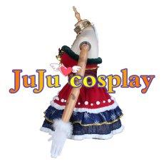 画像4: ラブライブ! サンシャイン!! Aqours 桜内梨子 クリスマスプレゼント編 覚醒後 コスプレ衣装 (4)