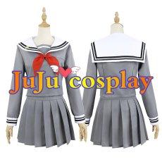 画像4: プロジェクトセカイ カラフルステージ! プロセカ 鳳えむ 制服 コスプレ衣装  (4)