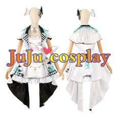 画像1: プロジェクトセカイ カラフルステージ! プロセカ MORE MORE JUMP ミク コスプレ衣装  (1)