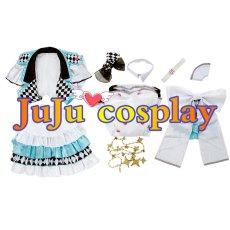 画像7: プロジェクトセカイ カラフルステージ! プロセカ MORE MORE JUMP ミク コスプレ衣装  (7)