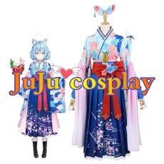 画像2: バーチャル 5期生 お正月衣装 雪花ラミィ コスプレ衣装 (2)