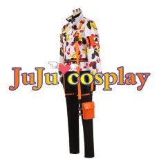 画像2: ツイステ SR/ビーンズカモ ジェイド・リーチ Jade Leech コスプレ衣装 コスプレチューム  (2)