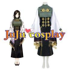画像2: バーチャル にじさんじ 白雪巴 通常服 コスプレ衣装 (2)