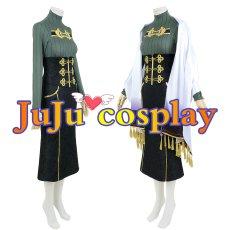 画像4: バーチャル にじさんじ 白雪巴 通常服 コスプレ衣装 (4)