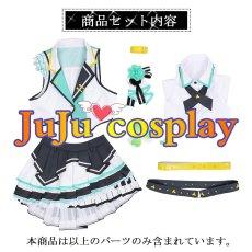 画像7: プロジェクトセカイ カラフルステージ! プロセカ MORE MORE JUMP! 日野森 雫 コスプレ衣装  (7)