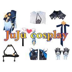 画像4: 原神 げんしん Eula(ユーラ/エウルア) コスプレ衣装 (4)