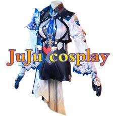 画像1: 原神 げんしん Eula(ユーラ/エウルア) コスプレ衣装 (1)