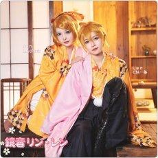 画像2: 桜ミク  鏡音リン 鏡音レン コスプレ衣装 (2)