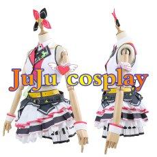 画像2: プロジェクトセカイ カラフルステージ! プロセカ MORE MORE JUMP! 桃井愛莉 コスプレ衣装  (2)