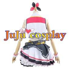 画像4: プロジェクトセカイ カラフルステージ! プロセカ MORE MORE JUMP! 桃井愛莉 コスプレ衣装  (4)