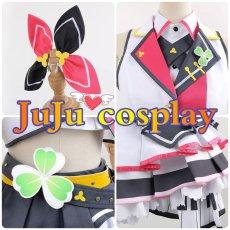 画像5: プロジェクトセカイ カラフルステージ! プロセカ MORE MORE JUMP! 桃井愛莉 コスプレ衣装  (5)