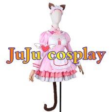 画像2: ネコぱらVol.4 ネコとパティシエのノエル ショコラ コスプレ衣装  (2)