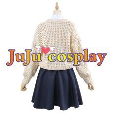 画像3: バーチャルYouTuber 大神ミオ 私服 コスプレ衣装 (3)