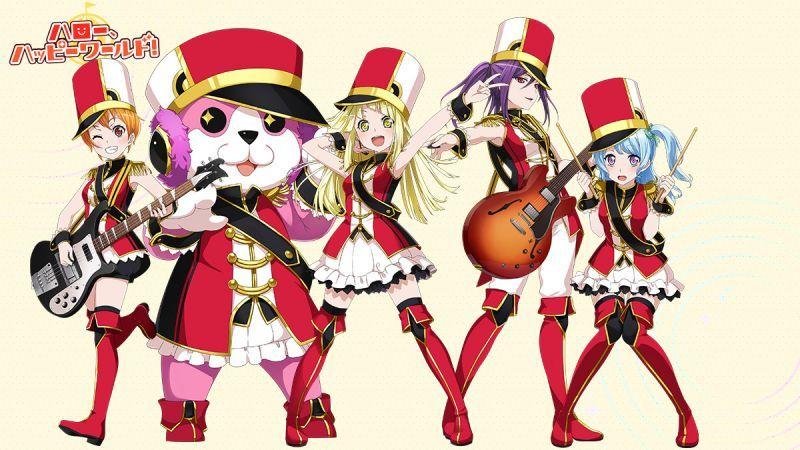 BanG Dream! ハロー、ハッピーワールド!