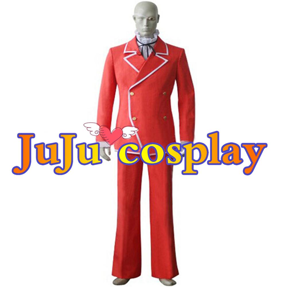 画像1: 送料無料!!  遊戯王 ペガサス・ジェイ・クロフォード コスプレ衣装 (1)
