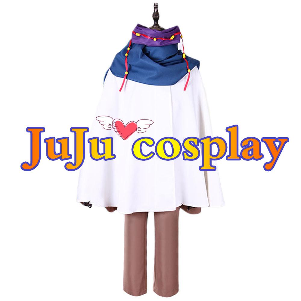 画像1: 送料無料!! ノラガミ ARAGOTO 陸巴(くがは) コスプレ衣装 (1)