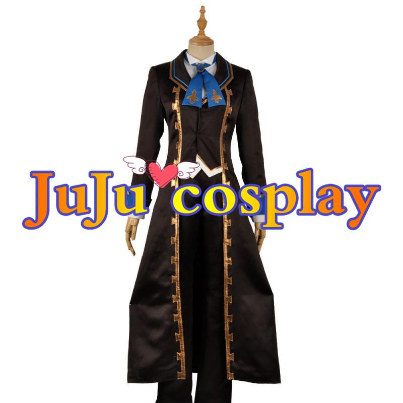 画像1: グランブルーファンタジー コスプレ The Dragon Knights ランスロット コスプレ衣装 (1)