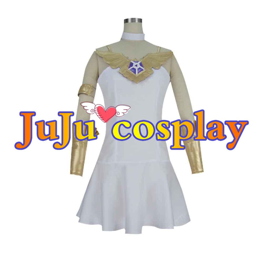 画像1: 送料無料!! グランブルーファンタジー グラブル 蒼の少女 ルリア コスプレ衣装 (1)