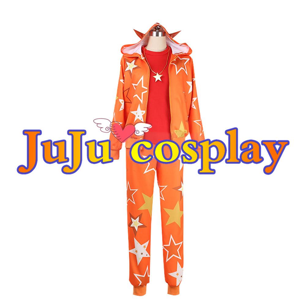 画像1: アイドリッシュセブン IDOLiSH7 アイナナ コスプレ ピタゴラス☆ファイター 和泉三月 コスプレ衣装 (1)