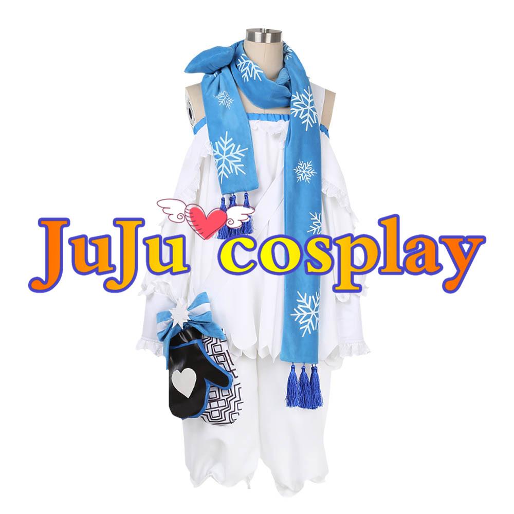 画像1: 少女前線 ドールズフロントライン コスプレ ZasM21 クリスマススキン コスプレ衣装 (1)