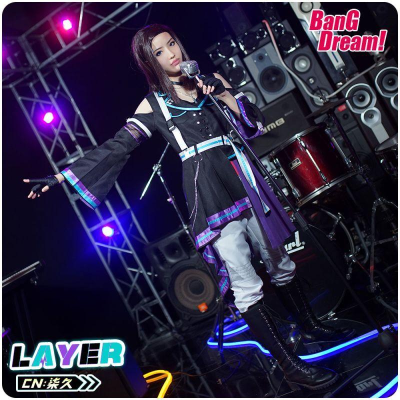 画像1: バンドリ!  カルパ 8th☆LIVE 夏の野外3DAYS RAISE A SUILEN RAS レイヤ コスプレ衣装 (1)