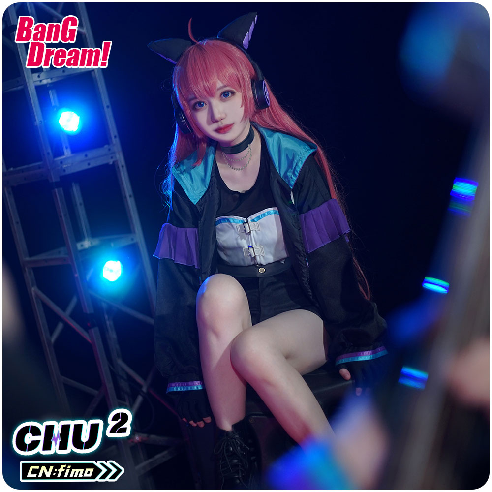 画像1: バンドリ!  カルパ 8th☆LIVE 夏の野外3DAYS RAISE A SUILEN RAS チュチュ コスプレ衣装 (1)