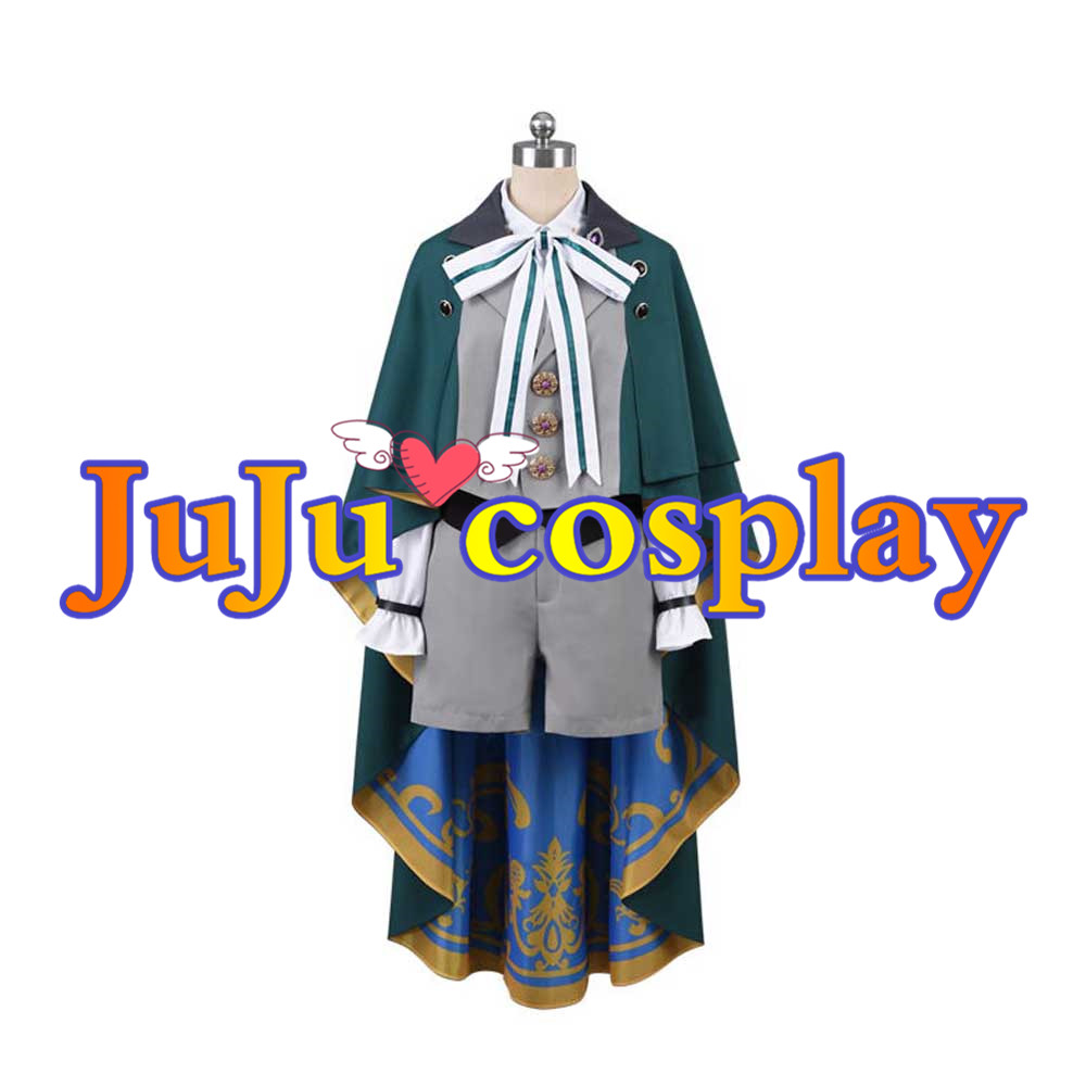画像1: 魔法使いの約束 北の国 ホワイト White 子供 コスプレ衣装 (1)