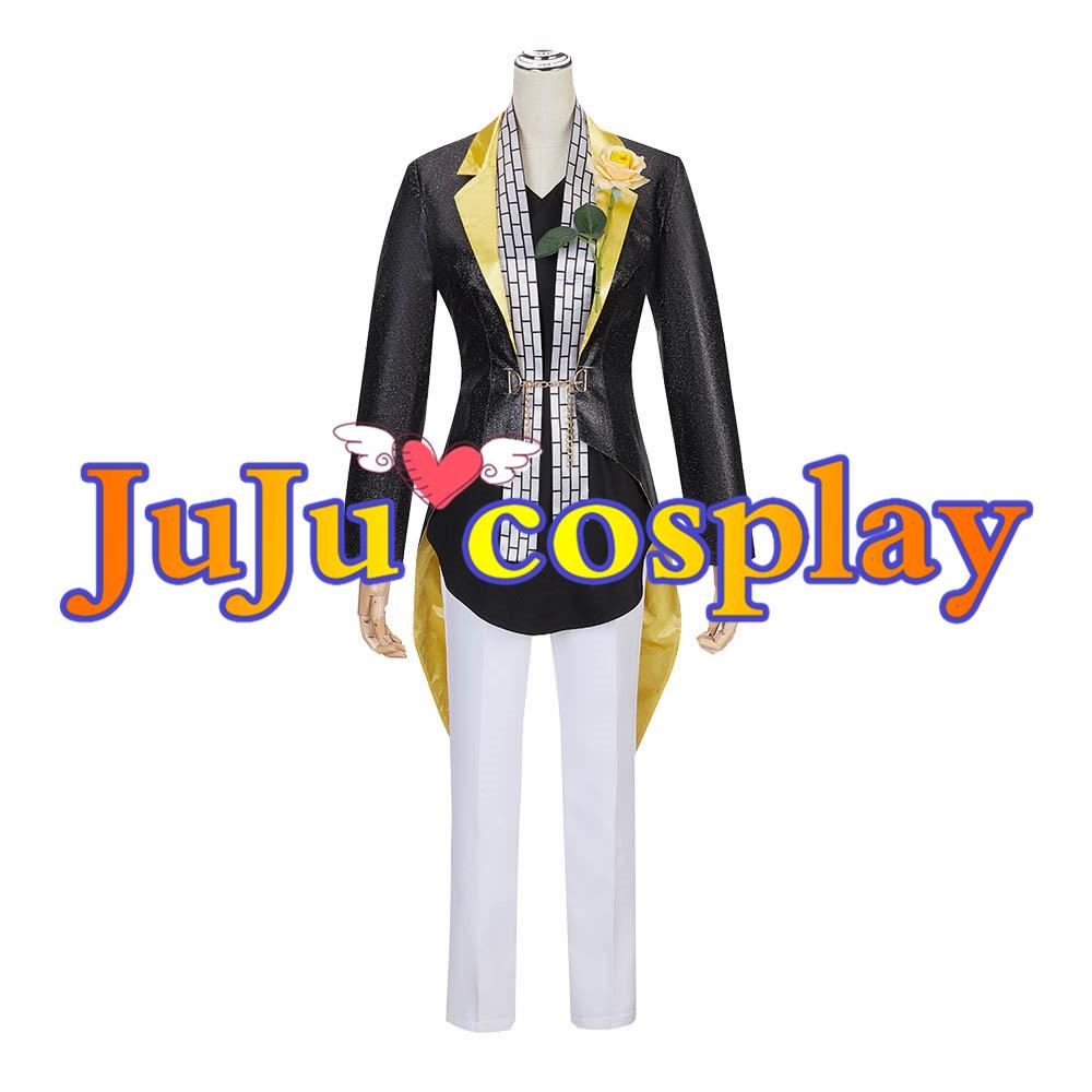 画像1: ヒプノシスマイク 伊弉冉一二三 コスプレ衣装 (1)