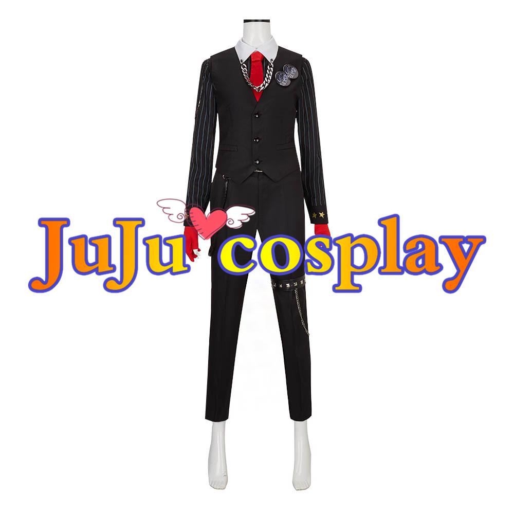 画像1: ヒプノシスマイク 入間銃兎 コスプレ衣装 (1)