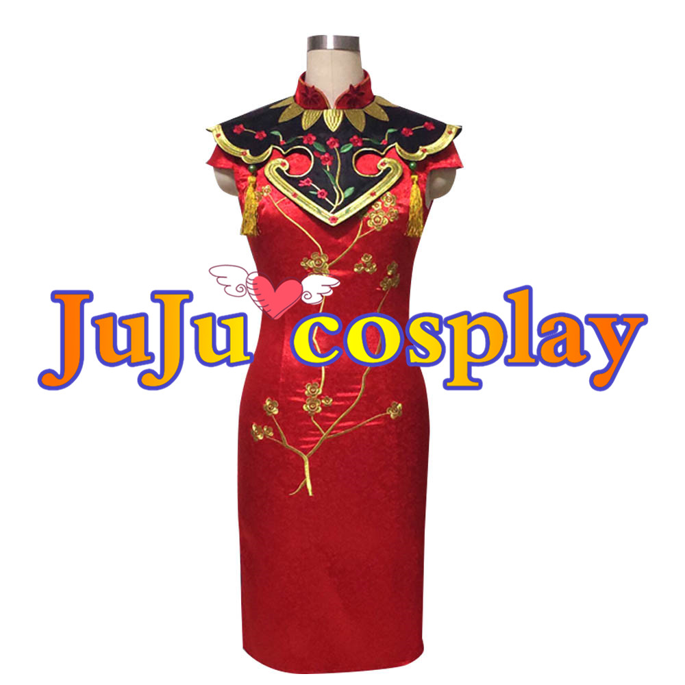 画像1: IdentityV 第五人格 空軍(マーサ・べハムフィール) 寒香の舞 コスプレ衣装 コスプレチューム  (1)