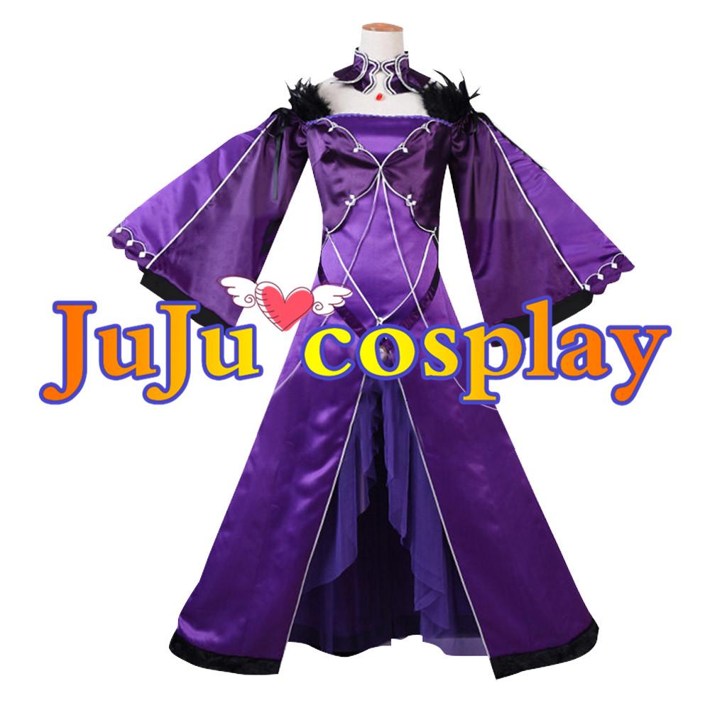 画像1: Fate/Grand Order FGO スカサハ 師匠 コスプレ衣装 コスプレチューム  (1)