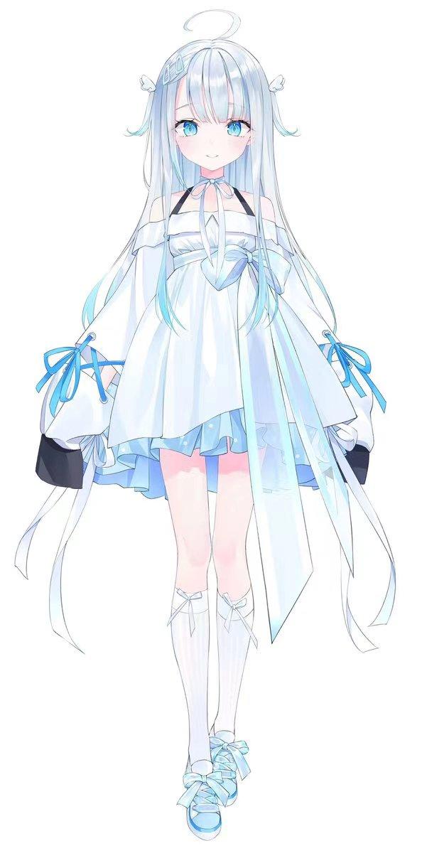 画像1: 新作予約 Vtuber AmatsukaUto 天使うと コスプレ衣装(画像はイメージです。) (1)