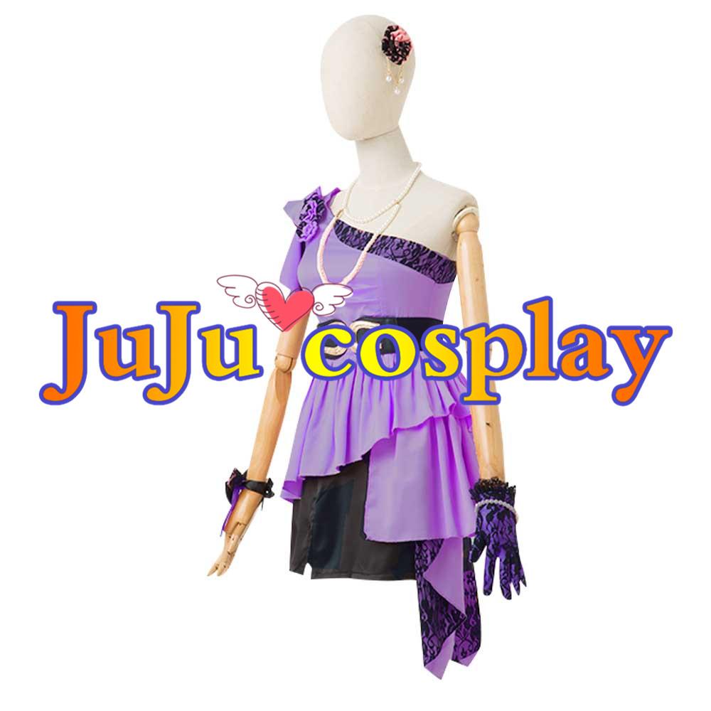 画像1: アイドルマスター ミリオンライブ! 花ざかりWeekend✿ 4Luxury(フォーラグジュアリー) 豊川風花 コスプレ衣装 (1)
