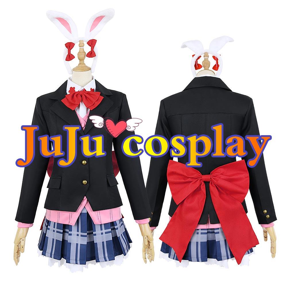 画像1: D4DJ Happy Around! 大鳴門 むに 冬服 コスプレ衣装 (1)