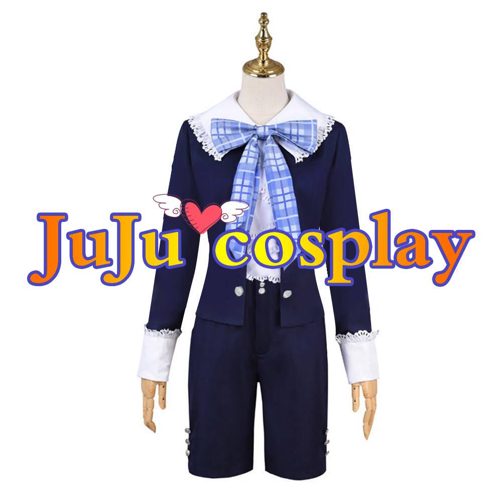 画像1: 送料無料 黒執事 双子 幼年 コスプレ衣装 コスプレチューム  (1)