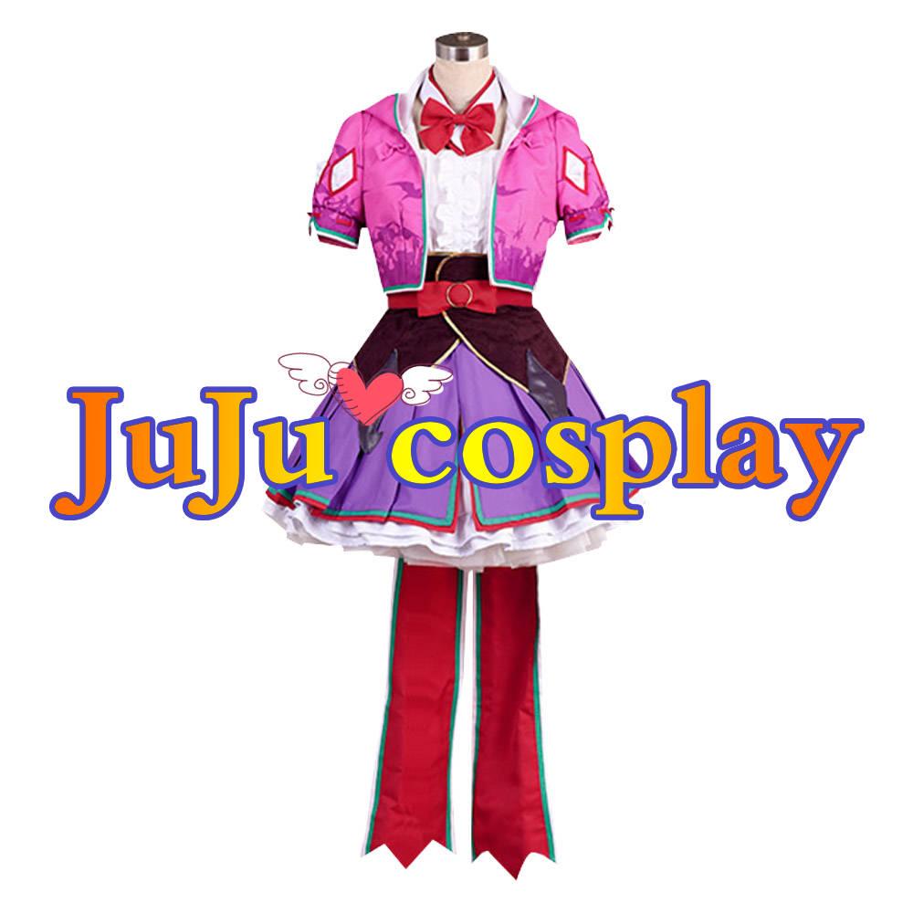 画像1: 送料無料 Fate/Grand Order FGO 刑部姫 第三再臨 コスプレ衣装 コスプレチューム  (1)