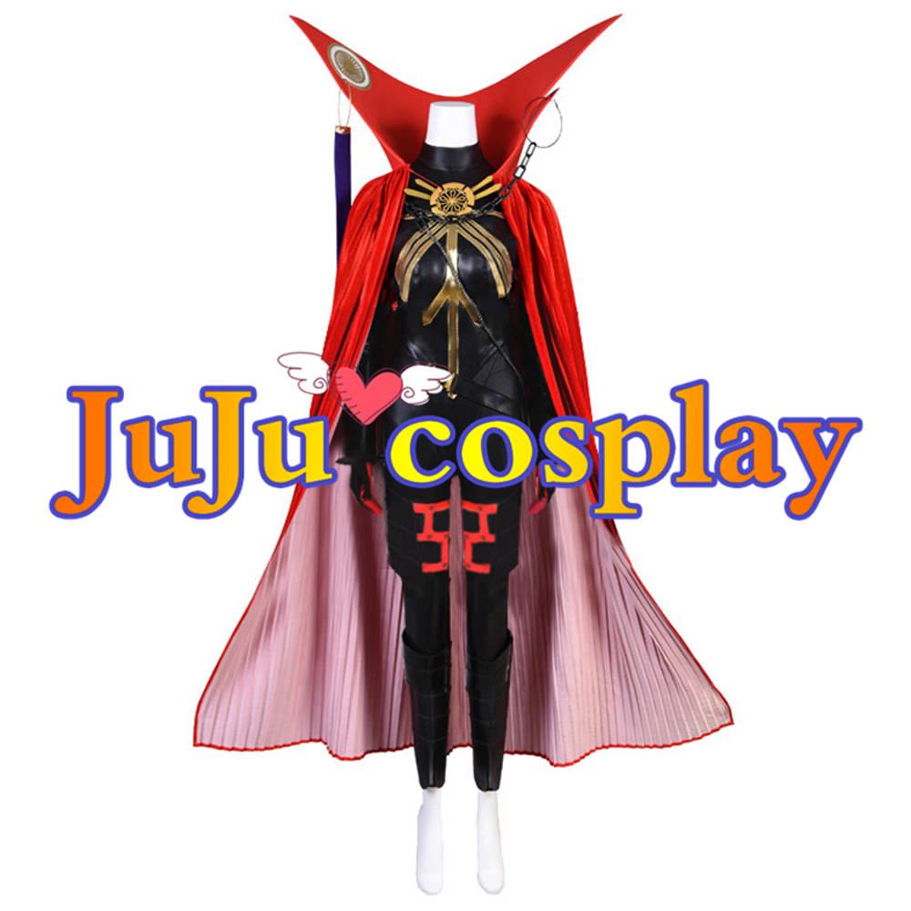 画像1: 送料無料 Fate/Grand Order FGO 魔王信長 コスプレ衣装 コスプレチューム  (1)