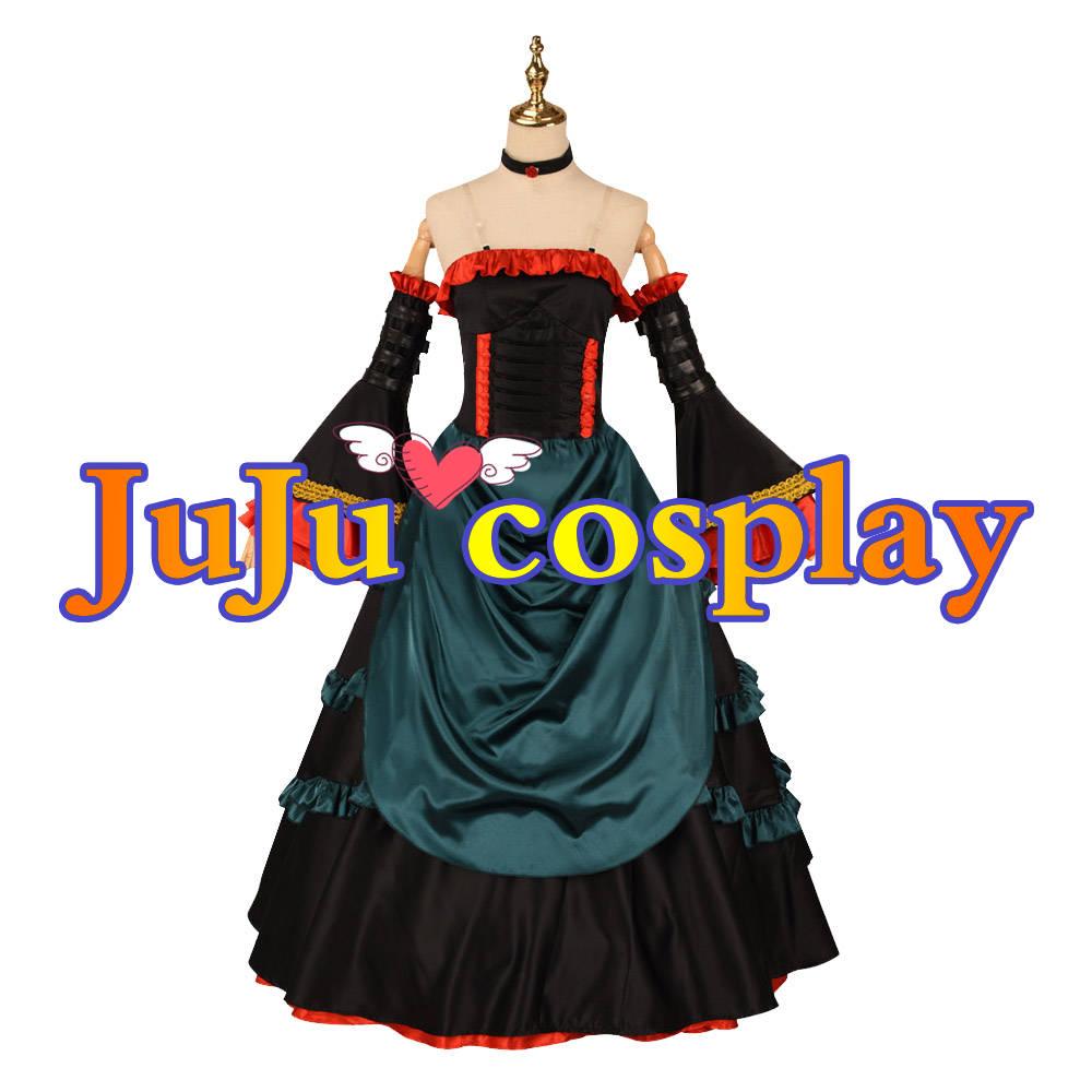 画像1: 送料無料 コードギアス 復活のルルーシュ C.C. ドレス コスプレ衣装 コスプレチューム  (1)