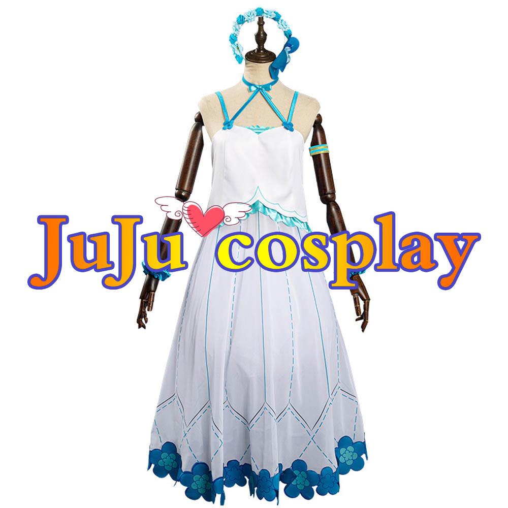 画像1: Re:ゼロから始める異世界生活 第2期 傲慢の魔女 テュフォン(リゼロ) コスプレ衣装 (1)