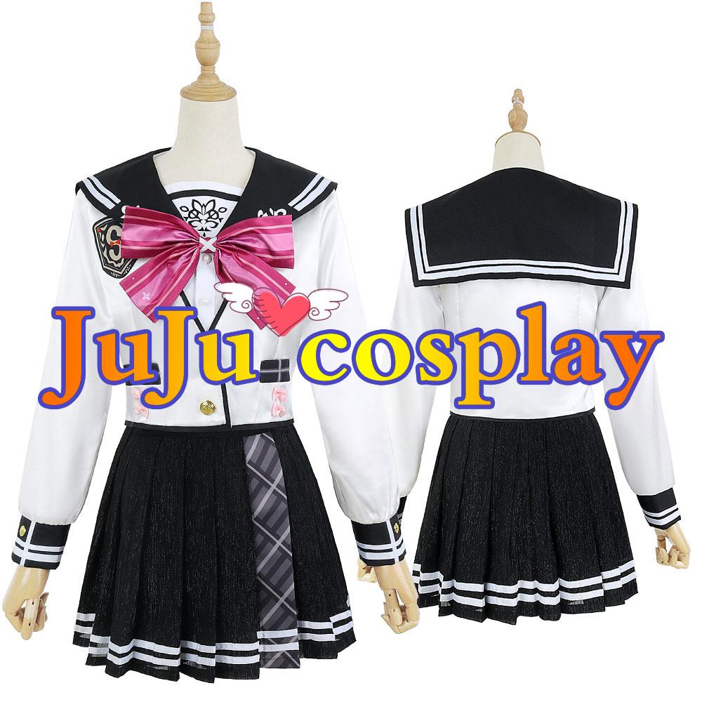 画像1: バーチャル にじさんじ 健屋花那 新衣装 コスプレ衣装 (1)