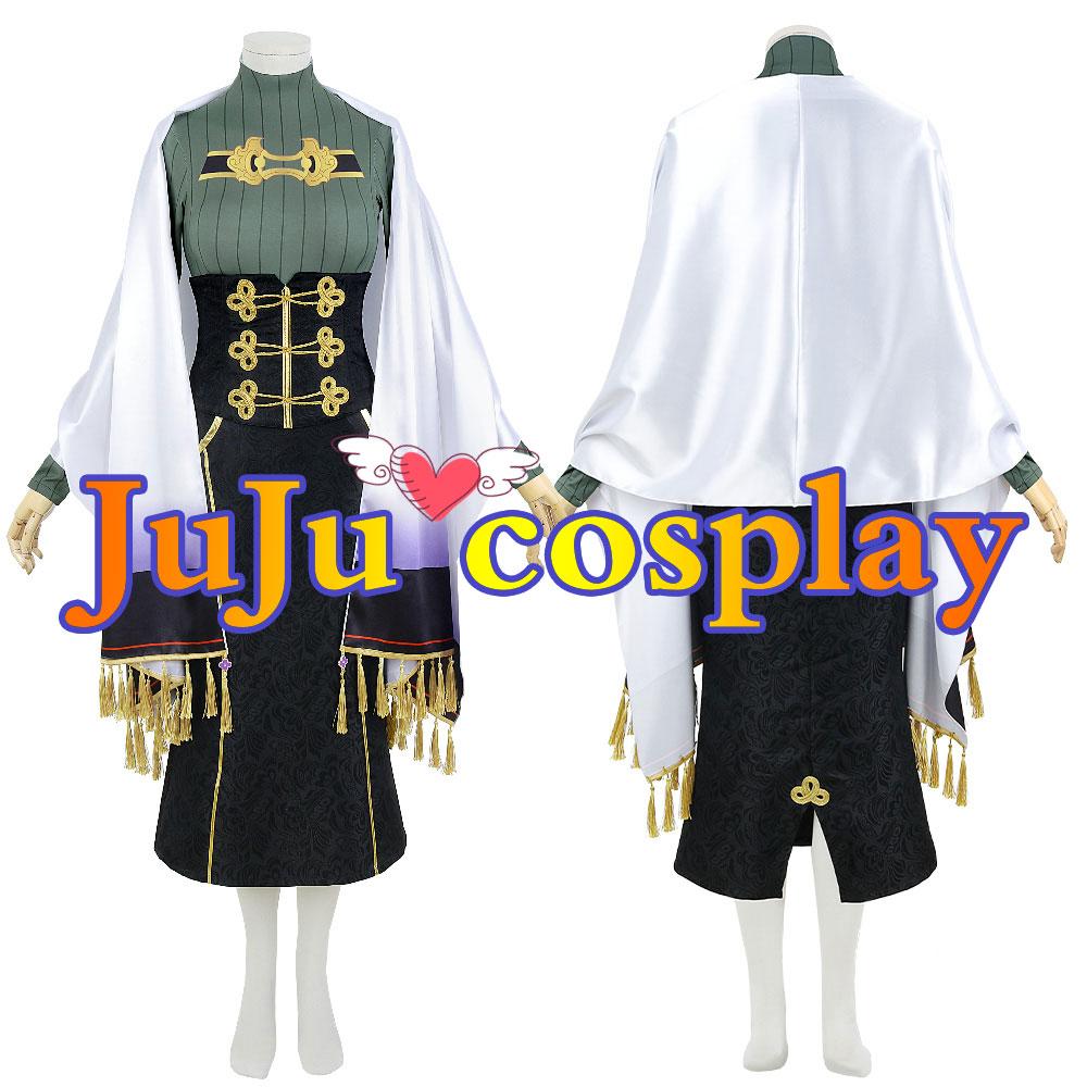 画像1: バーチャル にじさんじ 白雪巴 通常服 コスプレ衣装 (1)
