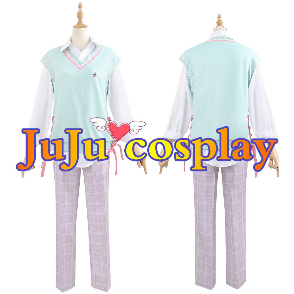 画像1: 桜ミク 鏡音レン コスプレ衣装 (1)