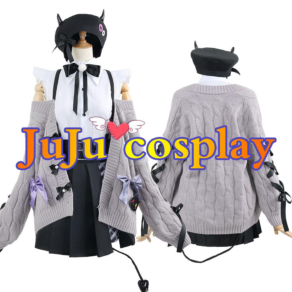 画像1: バーチャル Vtuber 4期生 常闇トワ 新衣装 コスプレ衣装(製作決定) (1)