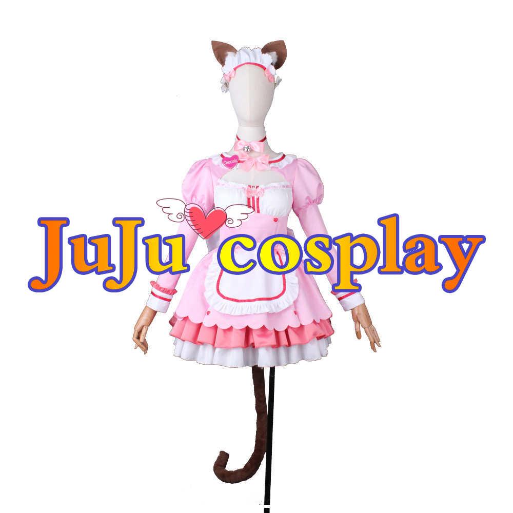 画像1: ネコぱらVol.4 ネコとパティシエのノエル ショコラ コスプレ衣装  (1)