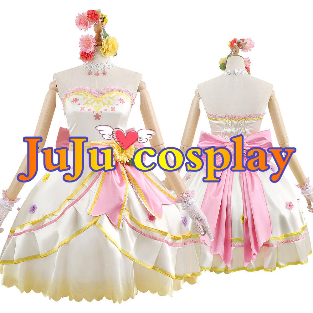 画像1: ウマ娘プリティーダービー 花嫁衣装 マヤノトップガン コスプレ衣装 (1)